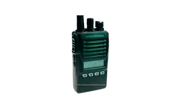 VX-354 UHF 400-470 Walki profesional con batería FNBV96LI y VAC 10